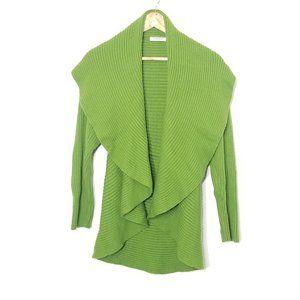 Windsmoor   Green Shawl Collar Knit Cardigan Small